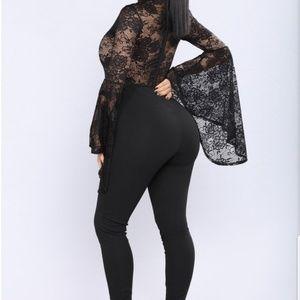Fame Monster Lace jumpsuit
